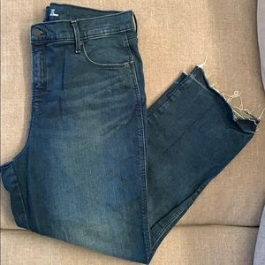 Women's Old Navy high rise ankle flare jeans Sz 16